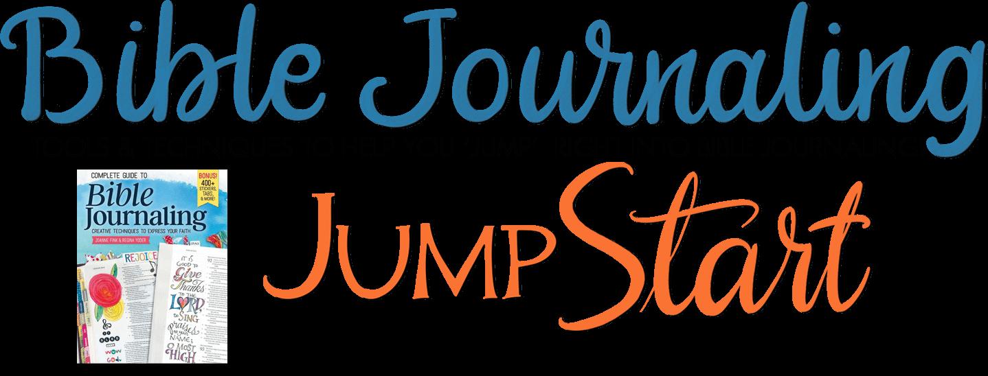 Bible Journaling Jump Start