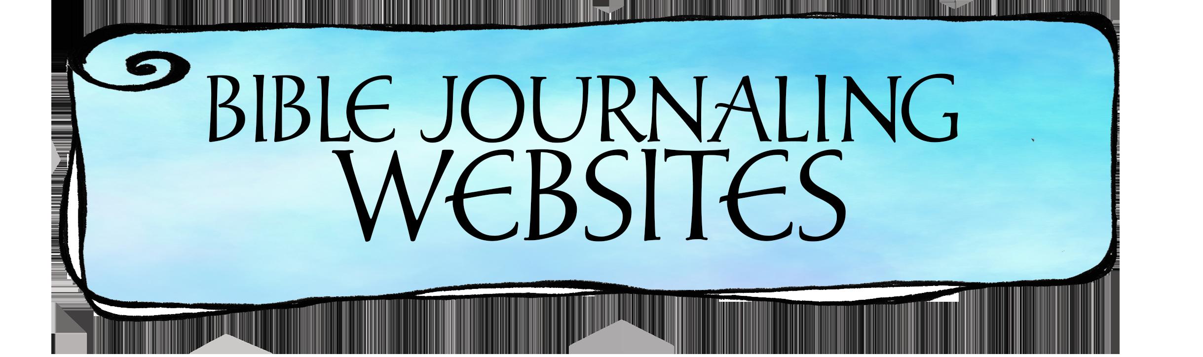 Bible Journaling Websites