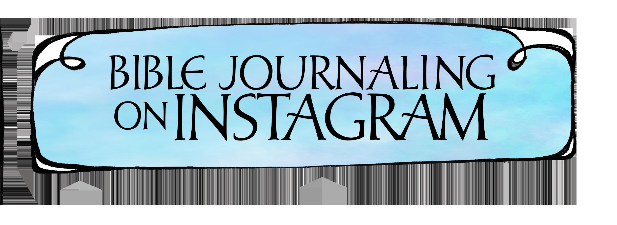 Bible Journaling Instagram