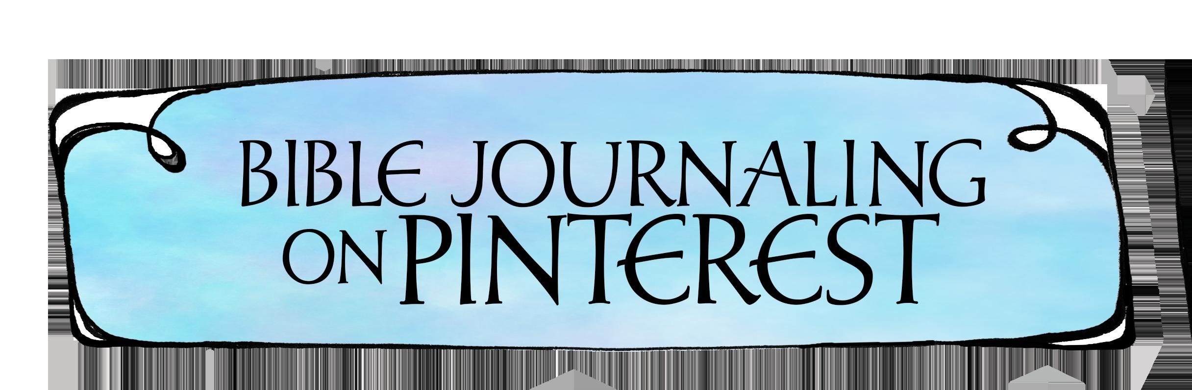 Bible Journaling Pinterest